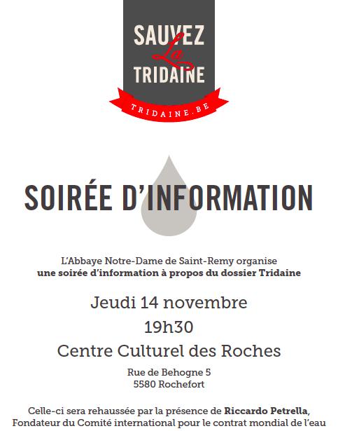 Tridaine -soirée info